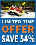 $49 -- Ocoee River Guided Rafting Trip for 2, Reg. $108